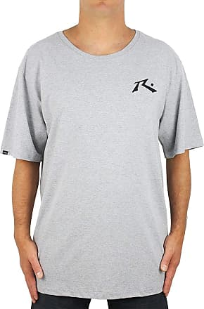 Rusty Camiseta Extra Grande Rusty Hide And Seek Cinza Mescla
