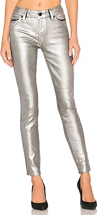 Paige Verdugo Ultra Skinny in Silver Galaxy Coating