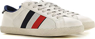 Moncler Sneakers for Men On Sale, White, Leather, 2019, 6 6.5 6.75 7 7.5 8 8.5 9 9.25 9.5