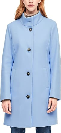 s.Oliver Womens 05.911.52.8687 Coat, Blue (Arctic 5310), 12 (Size: 38)