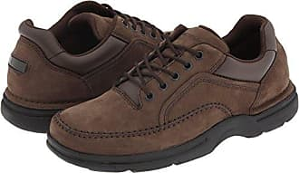 Rockport Mens Eureka Walking Shoe Oxford Chocolate 9 XW US 38e534a06b6