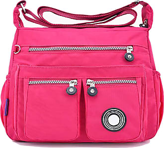 GFM Womens Nylon Waterproof Cross Body Shoulder Bag (S1-171-CRTGLB)