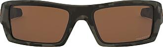 Ray-Ban Mens 0OO9014 Sunglasses, Multicolour (Matte Olive Camo), 60.0