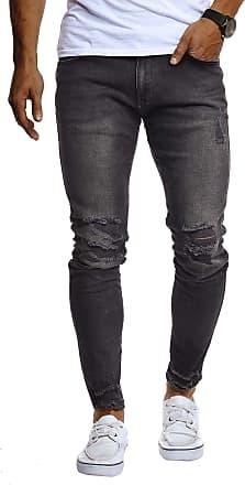LEIF NELSON Mens Jeans Trousers Pants LN-9145 Black W31/L30