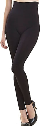 Undercover Seamless Slimming Shaping Control Leggings GB44 (3XL (28-30), Black)