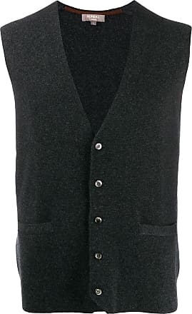 N.Peal Chelsea Milano waistcoat - Grey