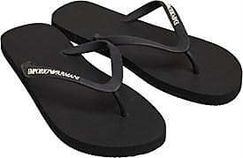 Emporio Armani three point flip flop. Perfect for the eyecatching look around the pool