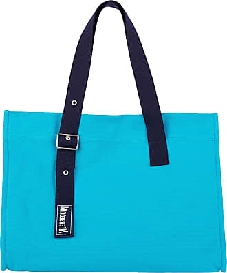 Vilebrequin Big Cotton Beach Bag Solid - Light Azure - T.U
