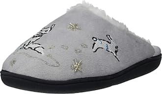 Vera Bradley Embellished Slippers Beary Merry LG (US Womens 9-10)