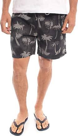 Aleatory Shorts Aleatory Shore Estampado Preto-Preto-P