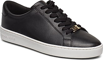 Michael Kors Irving Lace Up Låga Sneakers Svart Michael Kors Shoes