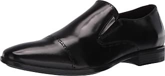Kenneth Cole Reaction Mens Eddy BRG Slip on Ct Size: 6.5 UK Black