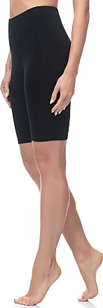 Merry Style MS10-200 Womens Cotton Short Leggings - Black - X-Small