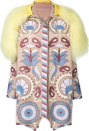 Yuliya Magdych Delight embroidered coat - Multicolour