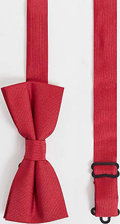 Twisted Tailor bow tie in red