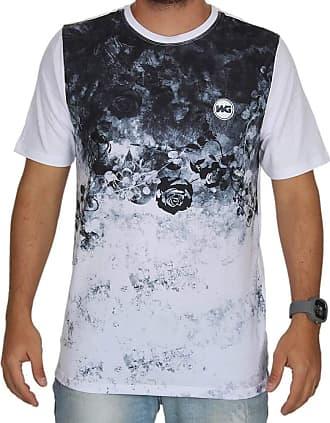 Wave Giant Camiseta Wg Especial Rock Rose - Branca - M