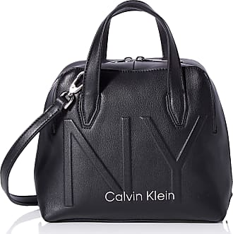 Calvin Klein Womens Shaped Sml Duffle Cross-Body Bag Black (Black), 12x20x22 cm (W x H x L)