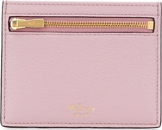 Mulberry compact logo cardholder - Rosa