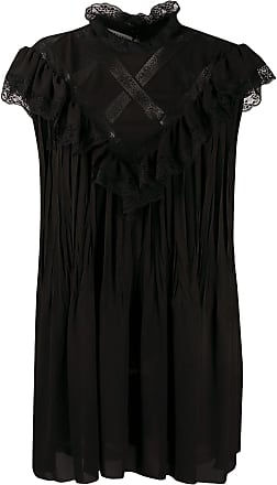 Philosophy di Lorenzo Serafini lace panelled shift dress - Black