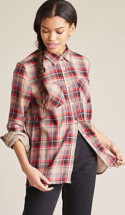 United By Blue Millport Relaxed Plaid Button Down