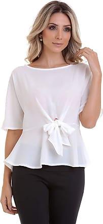 Kinara Blusa Lisa com Faixa na Cintura-P