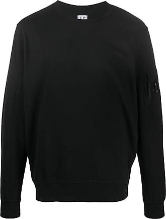 C.P. Company Suéter decote careca - Preto