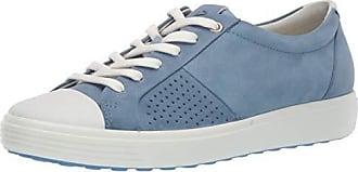 Ecco Womens Womens Soft 7 Sneaker Retro Blue Cap Toe 36 M EU (5-5.5 US)