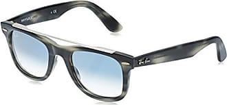 Ray-Ban Wayfarer Square Sunglasses Striped Grey 50 mm