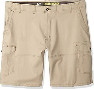 24f14846 Lee Mens Big and Tall Big & Tall Extreme Motion Swope Cargo Short, Caramel,