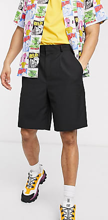 Collusion balloon shorts in black