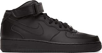 nike high cut black shoes