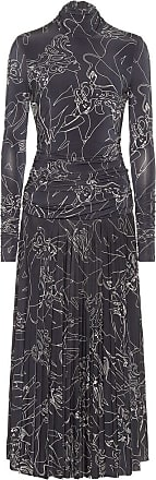 Victoria Beckham Printed stretch-jersey midi dress