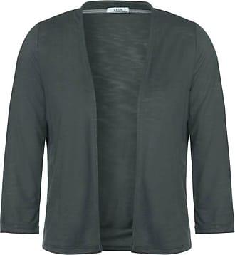 Cecil Unifarbene Shirtjacke - slate green