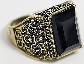 Reclaimed Vintage inspired - Anello con pietra - In esclusiva per ASOS-Oro