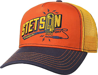 Stetson Connecting Trucker Cap Men - mesh Baseball with Lining, Peak, Snapback, Snapback Autumn-Winter Spring-Summer - One Size Yellow