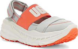 UGG Womens Slingback Runner Trainer in Gray/Coral, Size 5.5