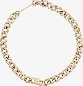 Zoë Chicco Zoë Chicco 14k Yellow Gold Curb Chain Diamond Bracelet