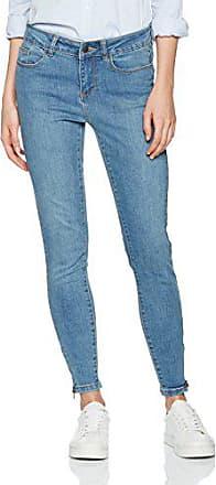 VERO MODA Damen Skinny Jeans Vmflashy Nw Straight Jeans Dk Bl Noos