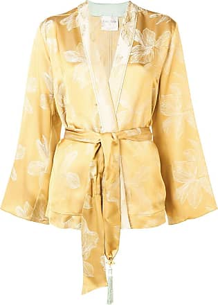 Forte_Forte belted jacket - Yellow