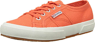 Superga Unisex Adults 2750 Cotu Classic Trainers Low-Top, Red (Red Coral), 3.5 UK (36 EU)