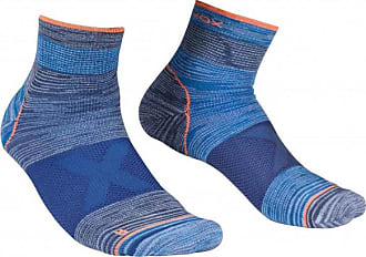 Ortovox Alpinist Quarter Socks Multifunktionssocken für Herren | blau