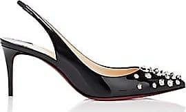 746406b422e Christian Louboutin Womens Drama Sling Patent Leather Pumps - Black