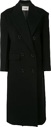 We11done oversized double breasted coat - Black
