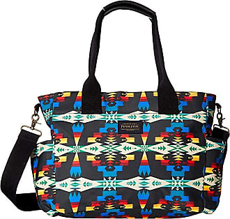 73ac970a1d4a Pendleton Canopy Canvas Super Tote (Tucson Black) Tote Handbags