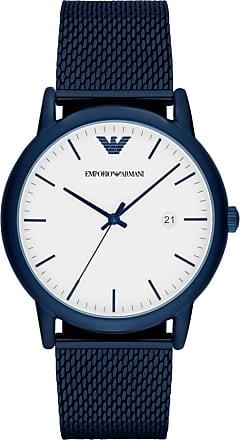 Emporio Armani Relógio Luigi Azul - Homem - Único IT
