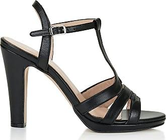 Madeleine Sandalette mit hohem Absatz in schwarz MADELEINE Gr 36 für Damen. Synthetik
