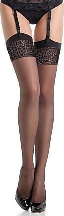 Fiore Antera - Nylon Stockings Black Veil 20D Suspender - Fiore Women - Black - 4