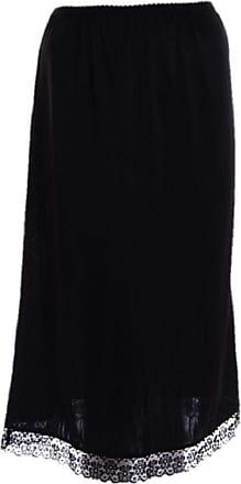 Undercover Ladies Polyester Waist Slip Black XXOS - 32 Long