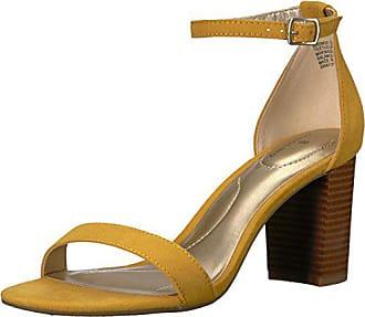 d6db988d0bc8 Bandolino Womens Armory Heeled Sandal Marigold 6.5 M US
