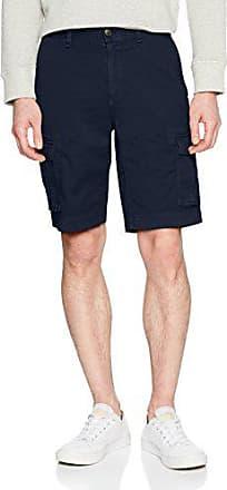 Tommy Jeans Herren Straight Soft Cargo Skinny Shorts Blau (Black Iris 002)  W27 ( 834f5c6188